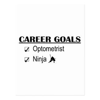 Ninja Career Goals - Optometrist Postcard