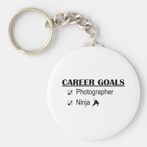 Ninja Career Goals - Photographer Keychain