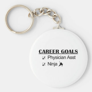 Ninja Career Goals - Physician Asst Key Chain