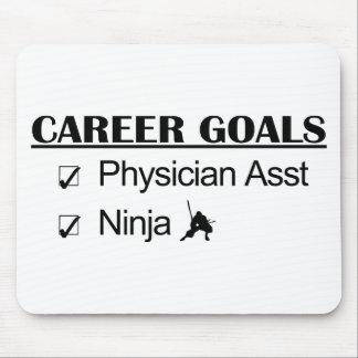 Ninja Career Goals - Physician Asst Mouse Pad