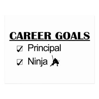 Ninja Career Goals - Principal Postcard
