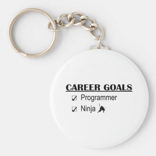 Ninja Career Goals - Programmer Keychain