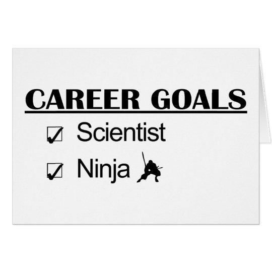 Ninja Career Goals - Scientist Card
