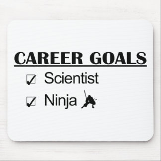 Ninja Career Goals - Scientist Mouse Pad