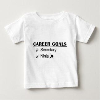 Ninja Career Goals - Secretary Baby T-Shirt