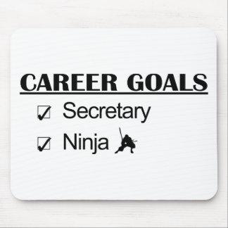 Ninja Career Goals - Secretary Mouse Pad