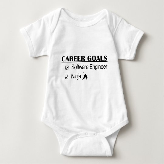 Ninja Career Goals - Software Engineer Baby Bodysuit