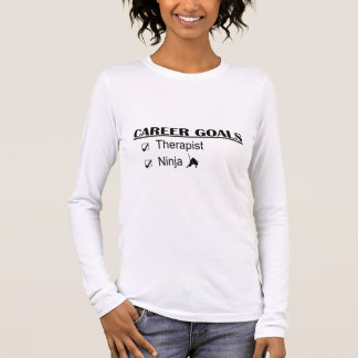 Ninja Career Goals - Therapist Long Sleeve T-Shirt