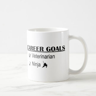 Ninja Career Goals - Veterinarian Classic White Coffee Mug