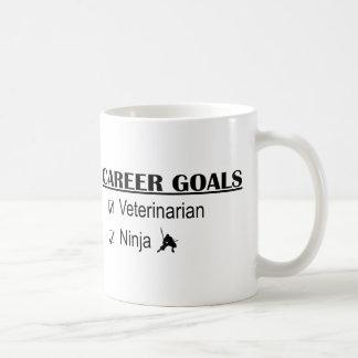 Ninja Career Goals - Veterinarian Coffee Mug