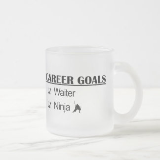 Ninja Career Goals - Waiter Mugs