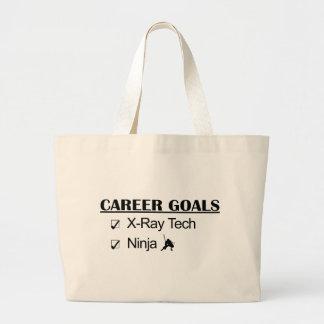 Ninja Career Goals - X-Ray Tech Large Tote Bag
