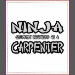 ninja carpenter aprons