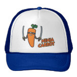 Ninja Carrot Trucker Hat