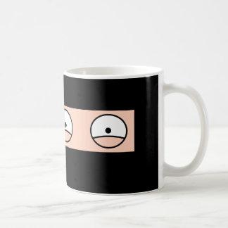 """NINJA Cartoon """"Silent but Deadly"""" Coffee Mug"""