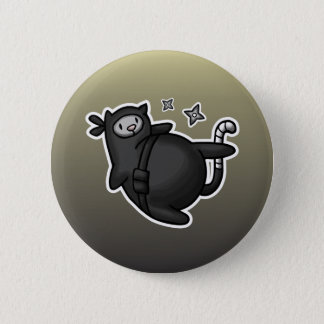 Ninja Cat Button