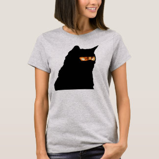 Ninja Cat is Not Amused T-Shirt