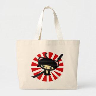 ninja cat kawaii bag