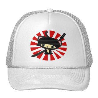 ninja cat kawaii trucker hat