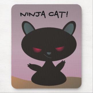Ninja Cat! Mouse Pad