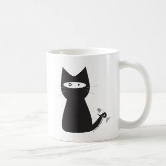 Ninja Cat Mug