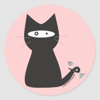 Ninja Cat Stickers
