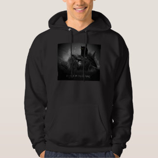 Ninja Cat Walks in Your Mind Hoodie