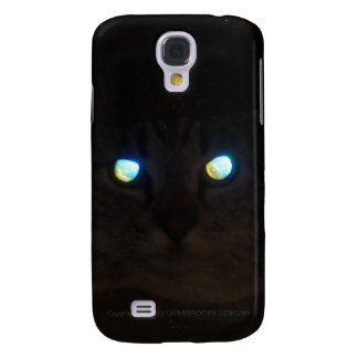 Ninja Cat with Eyes a Glow Galaxy S4 Cover