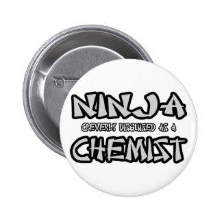 Ninja...Chemist Pinback Button