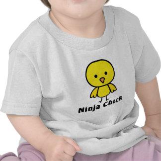 Ninja Chick T Shirts