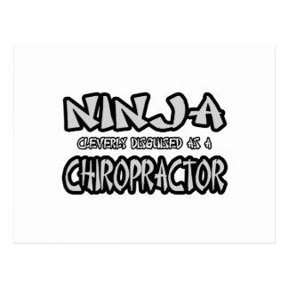 Ninja...Chiropractor Postcards