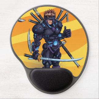 Ninja cibernético alfombrilla gel