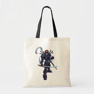 Ninja cibernético bolsa de mano
