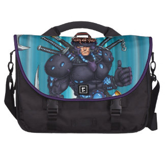 Ninja cibernético bolsa de ordenador