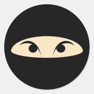 Ninja Classic Round Sticker