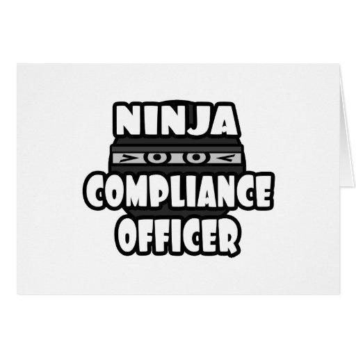 Ninja Compliance Officer Card