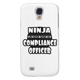 Ninja Compliance Officer Galaxy S4 Covers