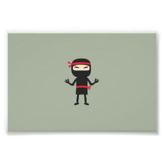 ninja con el arma fotografía