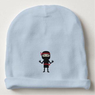 ninja con el arma gorrito para bebe