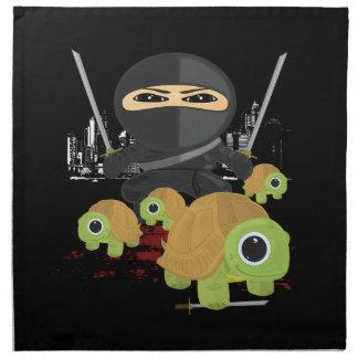 Ninja con las tortugas servilleta