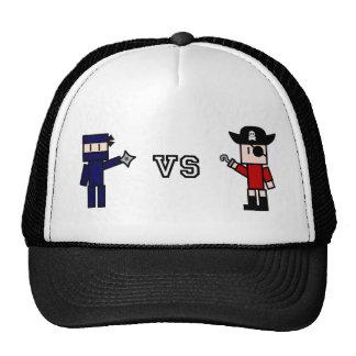 Ninja contra los gorras de los piratas