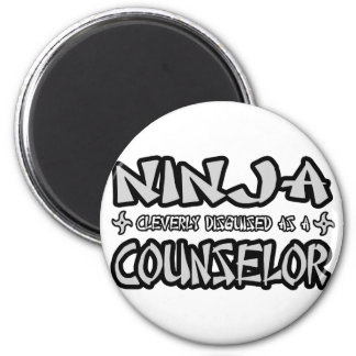Ninja...Counselor 2 Inch Round Magnet