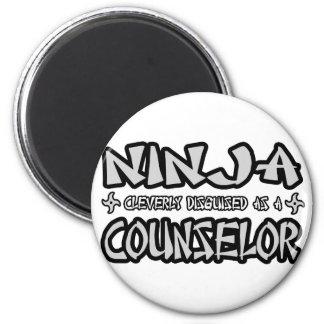 Ninja...Counselor Fridge Magnets