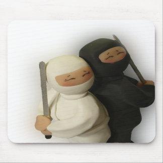 Ninja Couple Mousepad