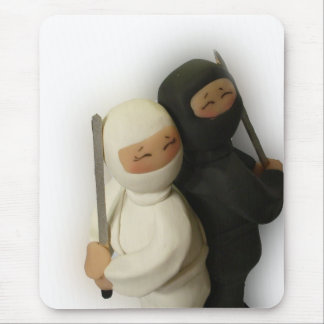 Ninja Couple Mousepad