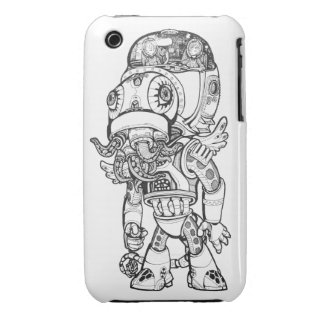 Ninja Cthulhu iPhone 3 Cases