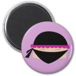 Ninja Cupcake Magnets