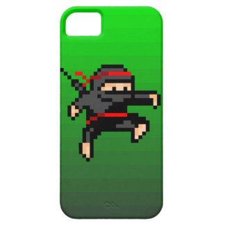 Ninja de 8 bits iPhone 5 Case-Mate protector