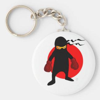 Ninja de Chillee Wilson Llavero Redondo Tipo Pin