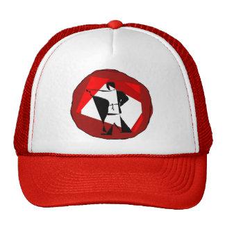 ninja de la correa negra del karate de los artes m gorras de camionero